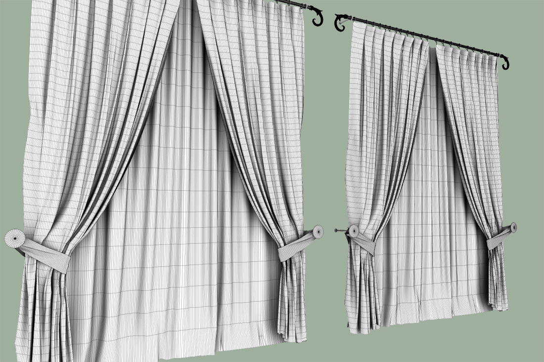 Furnitures Curtains Classic