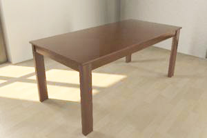 Free 3d Models Natural Wood Table