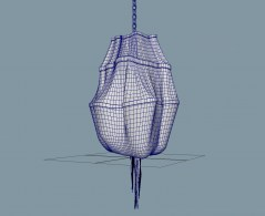 Chandelier Terzani Atlantis 3d model obj fbx mb