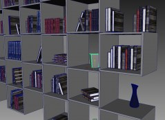Cubes Library archmodels interior for maya