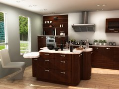 Kitchen design Milan maya archmodels